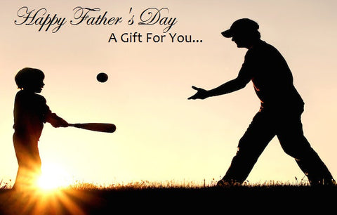 Gift Card - Father's Day (Baseball)