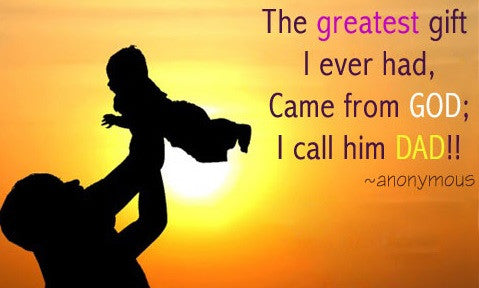 Gift Card - Father's Day (The Greatest Gift)