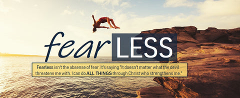 Fearless Banner 2.5' x 6' - Diver