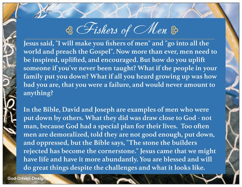 Father's Day Encouraging Men Prayer Card - Fishers of Men