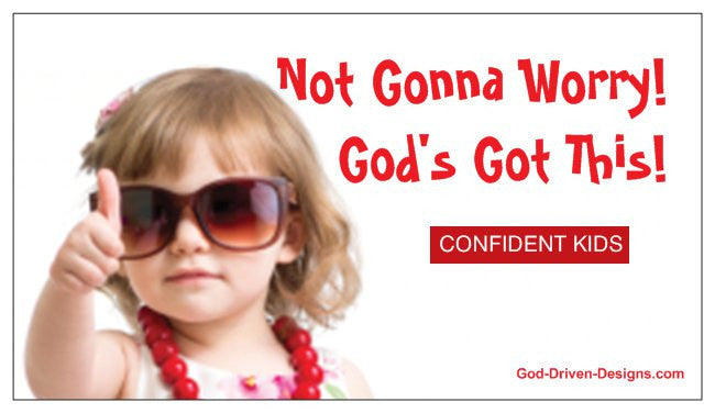Confident Kids Corner God's Got This Magnet 25/Pack