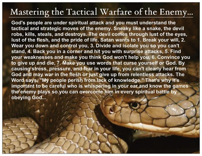 How to Master the Tactical Warfare of the Enemy Card