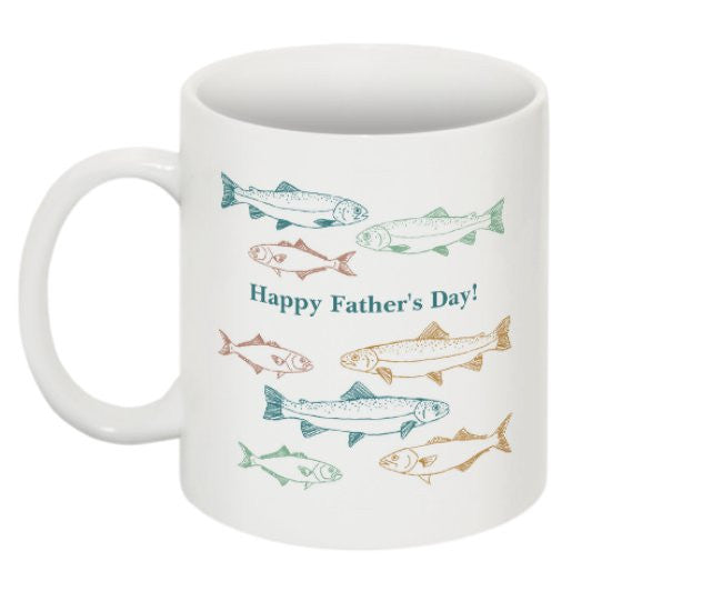 Reeled in the Big One? Best Fishing Father's Day Mug