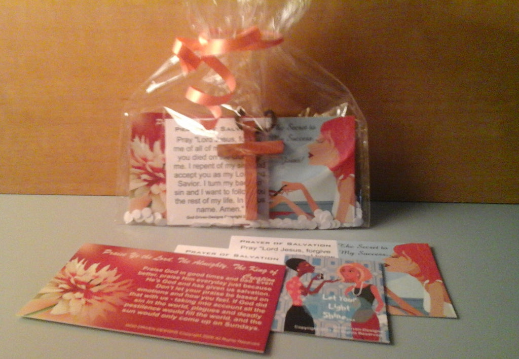 Retreat Event Gift Goodie Bag Party Favor Church Gift with Cross