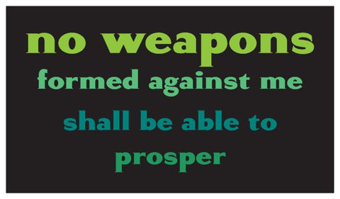 No Weapons Daily Inspiration Seed Card - Green