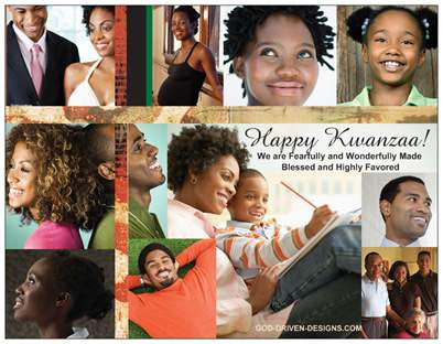Kwanzaa Holiday Note Card