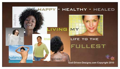 Happy Healthy Healed Women's Conference Magnet - 25/Pack