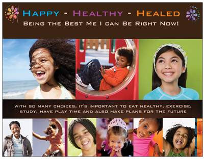 Happy, Healthy Healed Kids Prayer Card