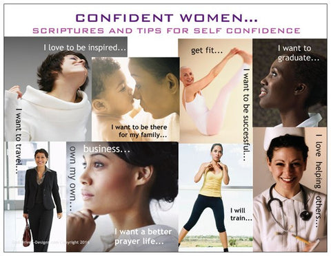 A Great Card for Women...The Confident Women Prayer Card