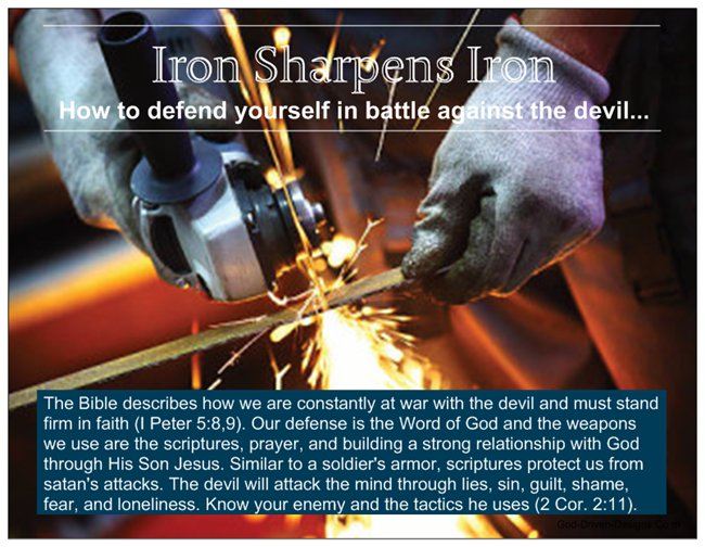 Iron Sharpens Iron: How to Defend Yourself in Battle