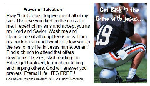Get back in the game with God...God-Driven-Designs