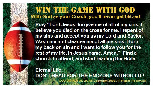 Win the game with God...God-Driven-Designs