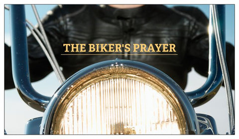 Motorcycle Biker Prayer of Salvation Seed Cards - Bike