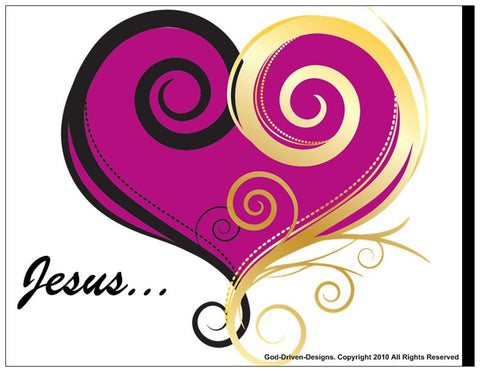 A Helpful Handout: Jesus Valentine Prayer of Salvation Cards