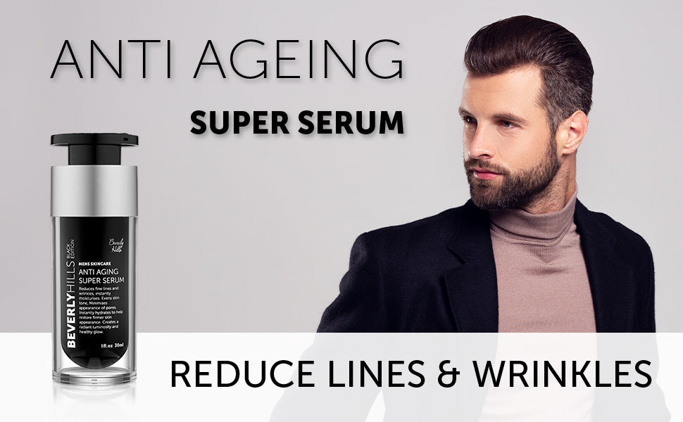 Anti ageing super serum. Reduce lines and wrinkles.