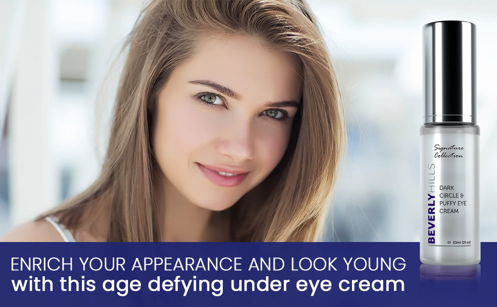 Enrich your appearance and look young with this age defying under eye cream