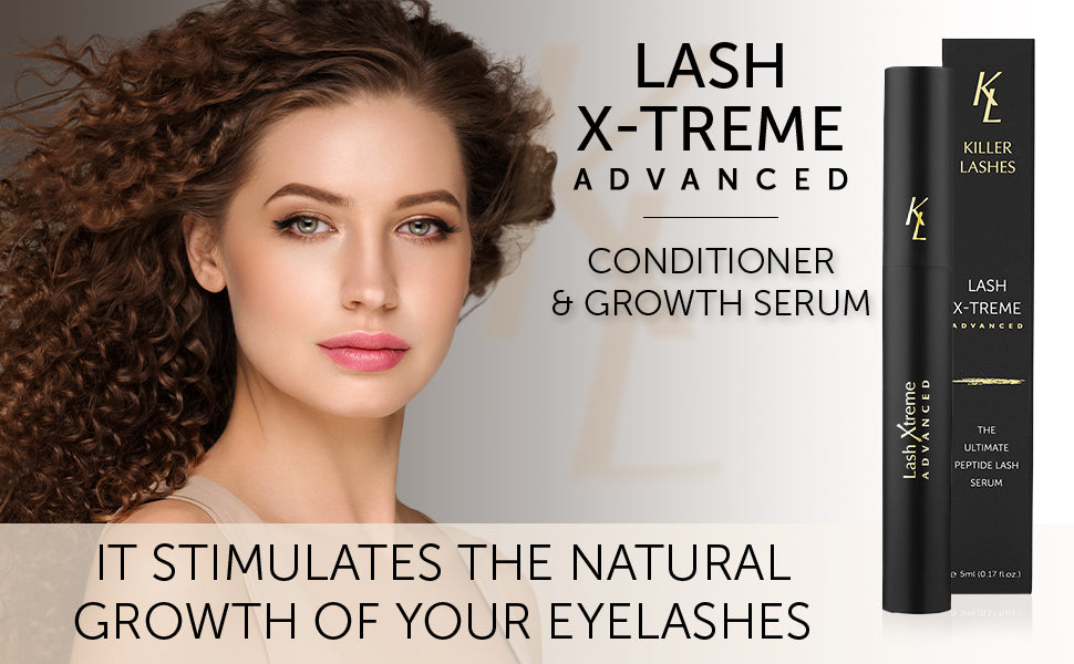 Lash extreme advanced. conditioner and growth serum. It stimulates the natural growth of your eyelashes