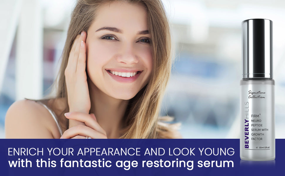 Enrich your appearance and look young with this fantastic age restoring serum