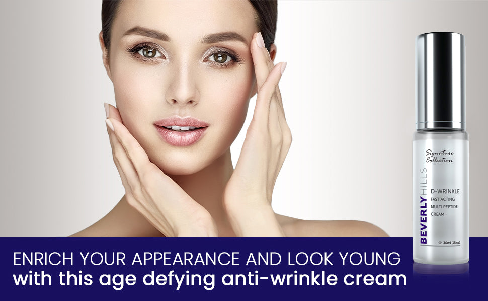 Enrich your appearance and look young with this age defying anti-wrinkle cream