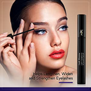 Helps lengthen, widen, and strengthen eyelashes