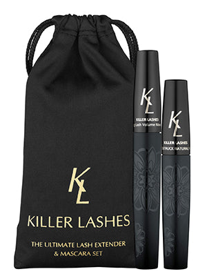 The ultimate lash extender and mascara set