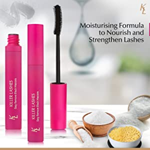Moisturising formula to nourish and strengthen lashes