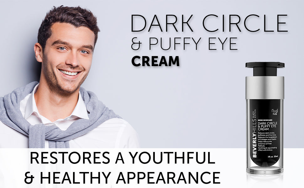 Dark circle and puffy eye cream. Restores a youthful and healthy appearance