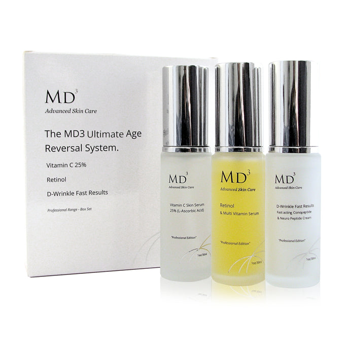 Anti-Aging Ultimate Age Reversal System - MD3 Advanced Skin Care
