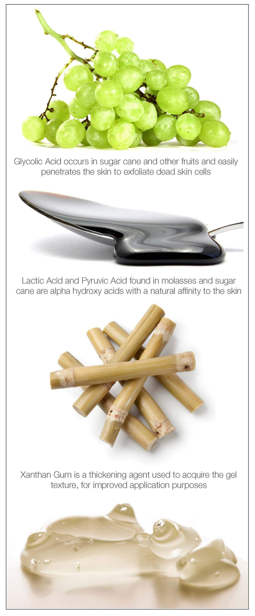 Glycolic Acid Peel  Facial Exfoliator With Lactic Acid And Pyruvic Fruit Acid