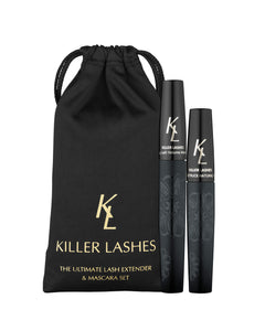 MD3 Killer Lashes - Waterproof Black Mascara & Fiber Lash Extender