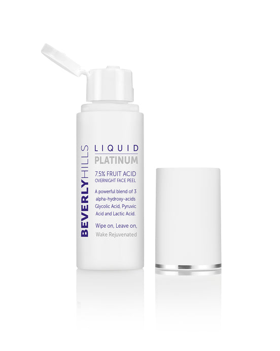Liquid Platinum 7.5% Fruit Acid Facial Peel & Resurfacing Treatment. 50ml - MD3 Advanced Skin Care