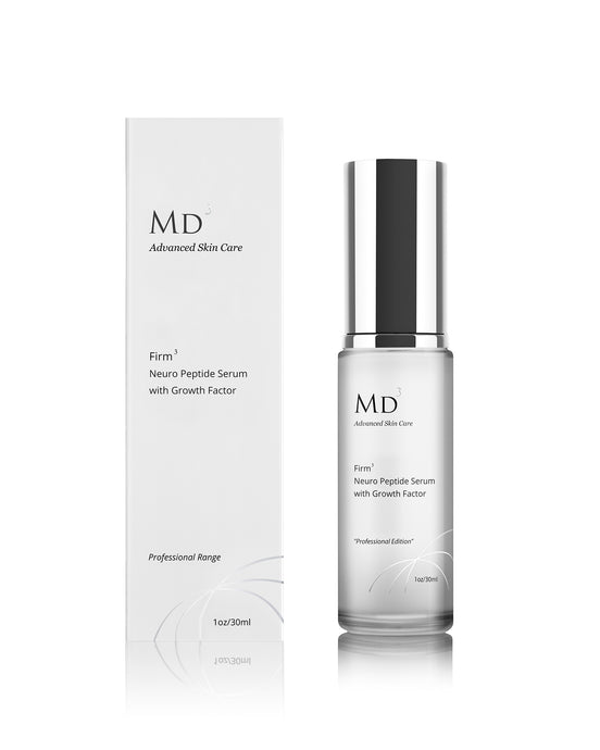 MD3 FIRM3 NEUROPEPTIDE SERUM WITH GROWTH FACTOR (EGF) - MD3 Advanced Skin Care