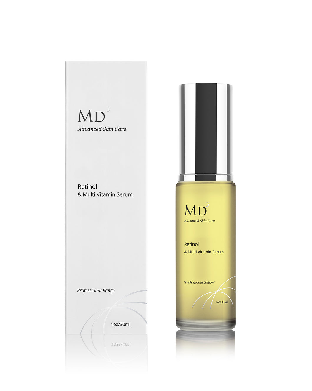 2% RETINOL SERUM WITH VITAMINS - MD3 Advanced Skin Care