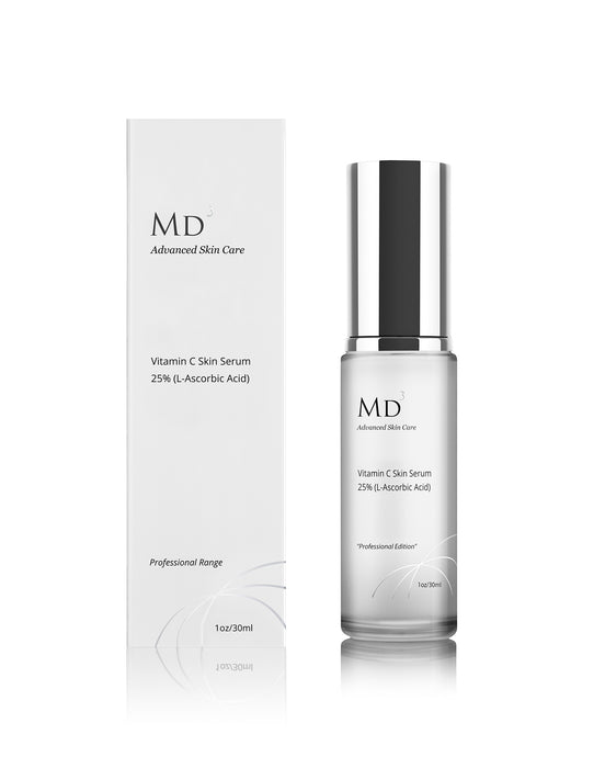 MD3 VITAMIN C 25% POTENT ANTI AGEING SERUM - MD3 Advanced Skin Care