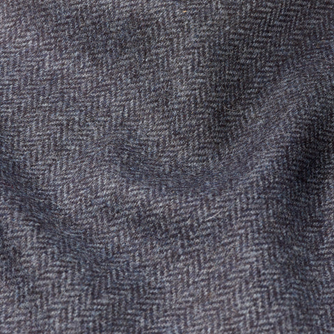 Herringbone - Navy Blue
