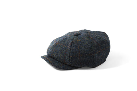 Failsworth Carloway Blue - Peaky Blinders Cap