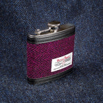 Harris Tweed - Black/Purple