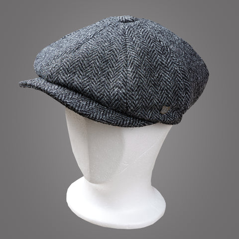 Failsworth Carloway Herringbone - Peaky Blinders Cap