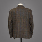 Harris Tweed Lightweight - Olive Grey