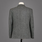 Harris Tweed Lightweight - Grey Herringbone