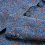 Harris Tweed Sandy - Blue