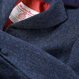 Harris Tweed Tara - Blue Herringbone