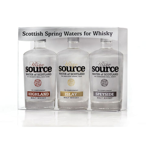 Usige Source - Whiskyvatten 3-pack