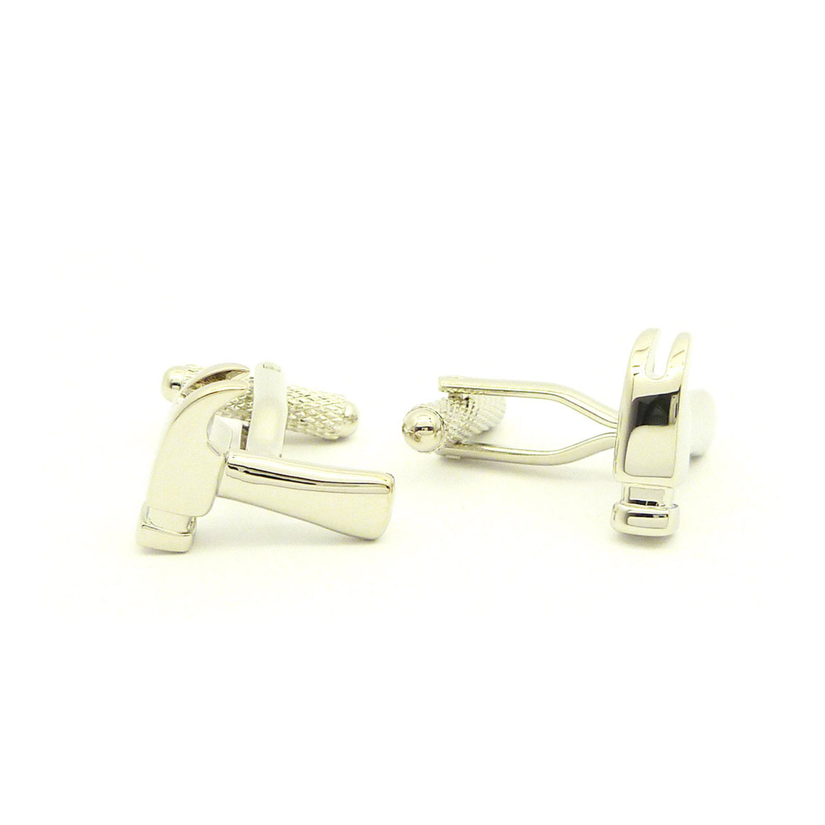 Wild Links - Silver Claw Hammer Cufflinks