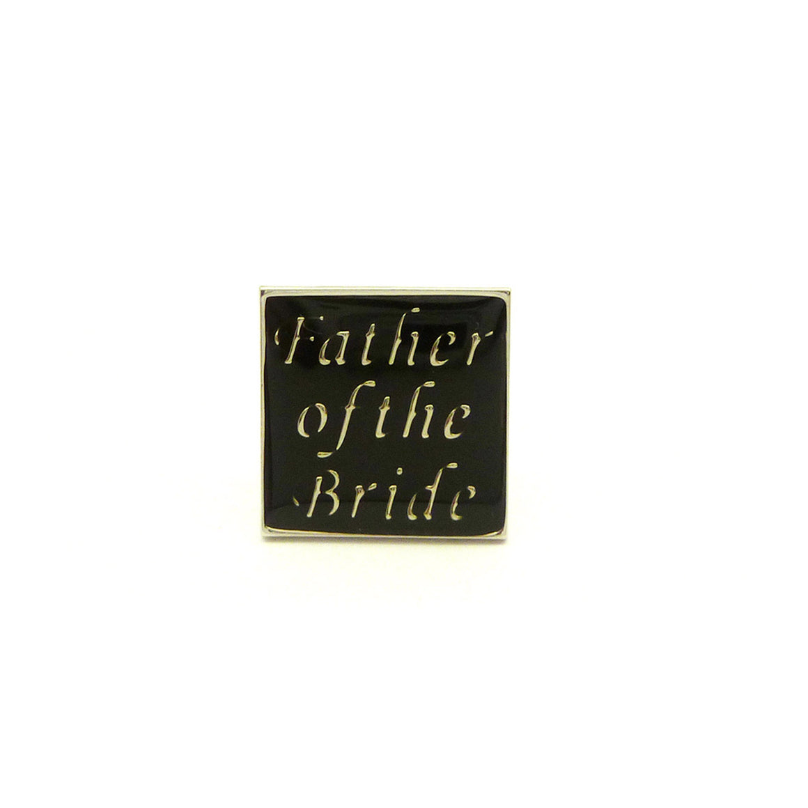 Wild Links - Silver Father of the Bride Cufflinks