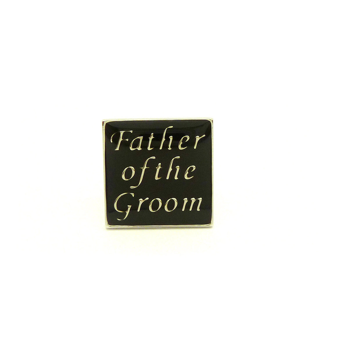 Wild Links - Silver Father of the Groom Cufflinks