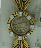 Jaeger leCoultre Vintage Ladies 18K Gold Watch