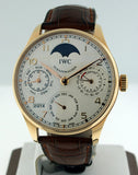 IWC Portuguese Perpetual Calendar Moonphase IW502213 Pre-owned
