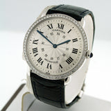 Cartier Ronde Louis Mid-Size Platinum Pre-Owned