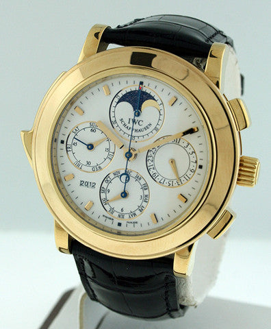 IWC Grande Complications Perpetual Calendar Minute Repeater IW3770005 Pre-owned